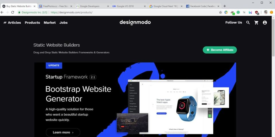 Chrome Canary with Material Design refresh elements