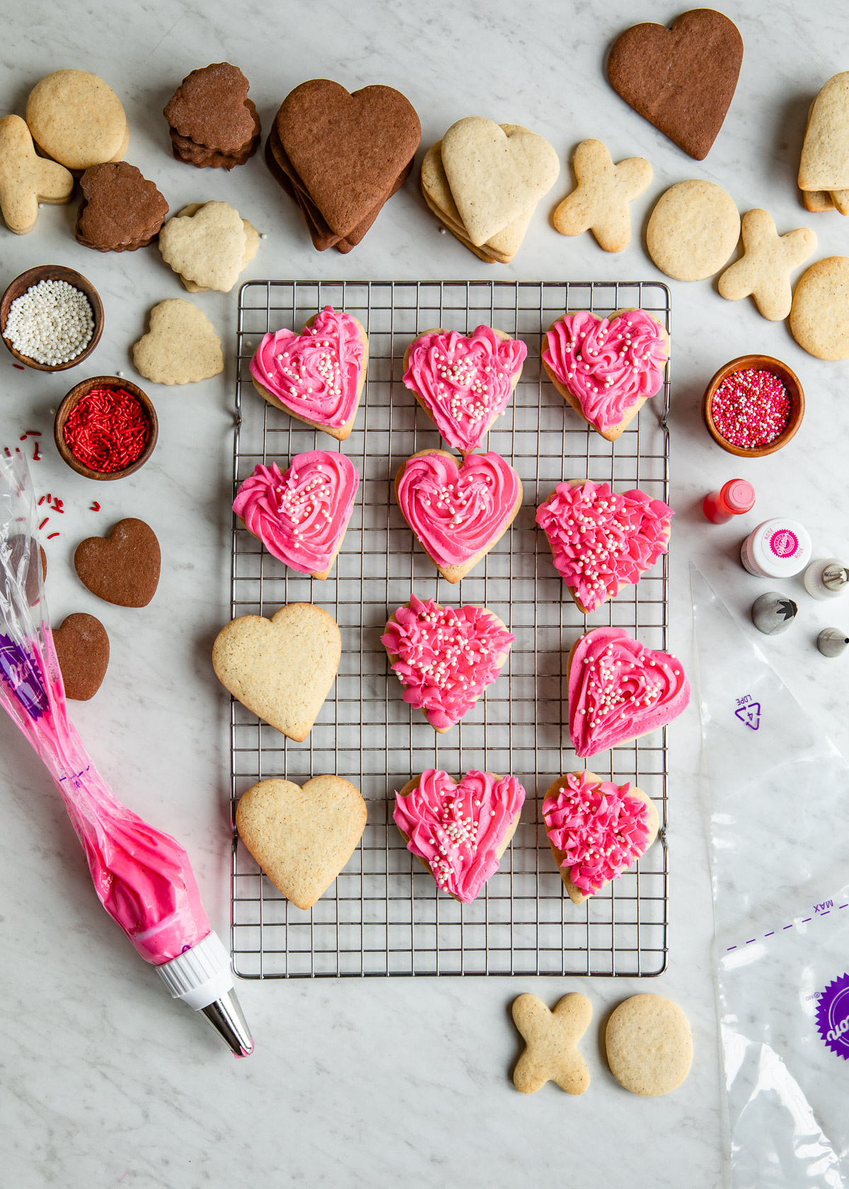 The Best Sugar Cookie Frosting | DesignMom.com
