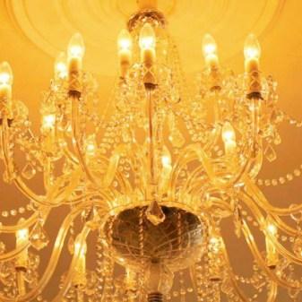 Kilcoran Lodge Hotel Ballroom Interiors - Chandelier