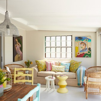 Quirky Colourful Home