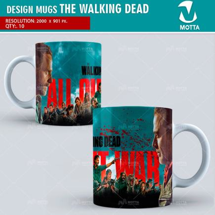 THE WALKING DEAD | DESIGN FOR SUBLIMATION THE MUGS