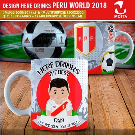 DESIGN THE BEST FAN OF PERU IN RUSSIA 2018