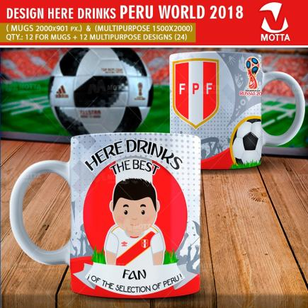 DESIGN THE BEST FAN OF PERU IN RUSSIA 2018