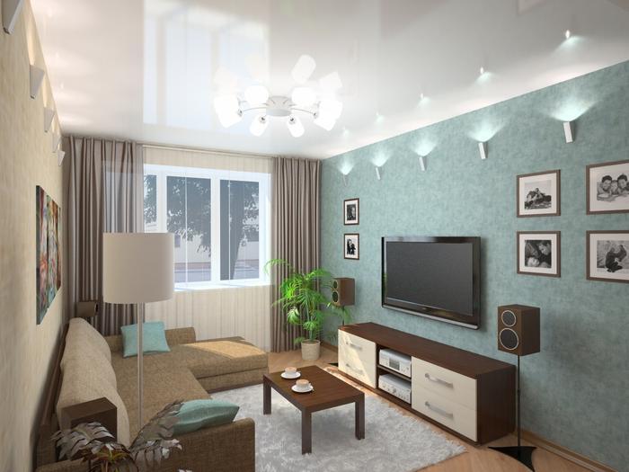 дизайн гостиной фото 7