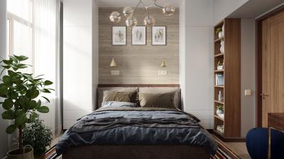 Обои для спальни 105 фото дизайна какие обои выбрать в