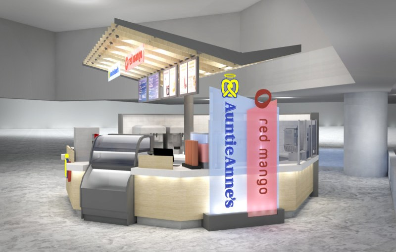 Red Mango – Auntie Anne's Kiosk, JFK International, American Terminal