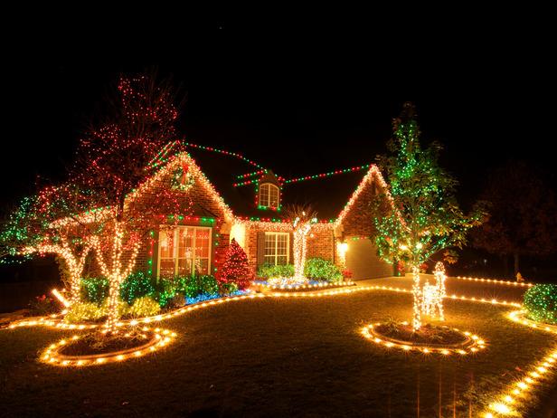 Christmas Light Ideas Outdoor