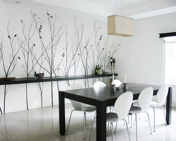 Decorating A Dining Room Wall