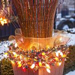 Outdoor Christmas Lights Ideas UzBA