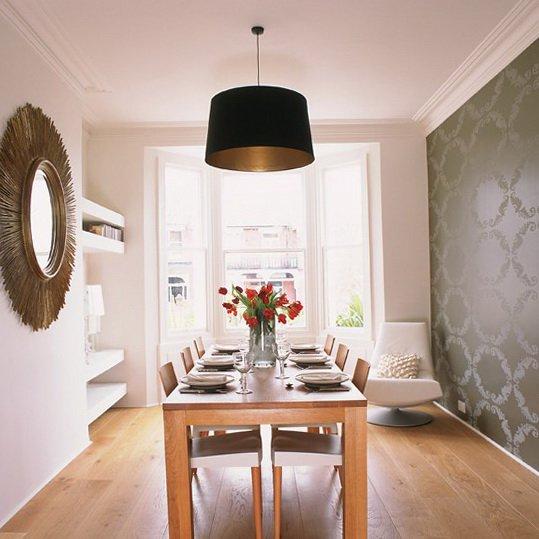 Wallpaper For Dining Room Ideas