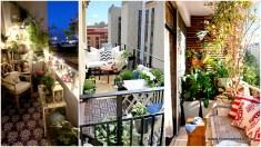 Small Mediterranean Balcony Ideas