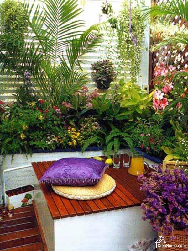 22+ Apartment Balcony Ideas Garden Design PNG