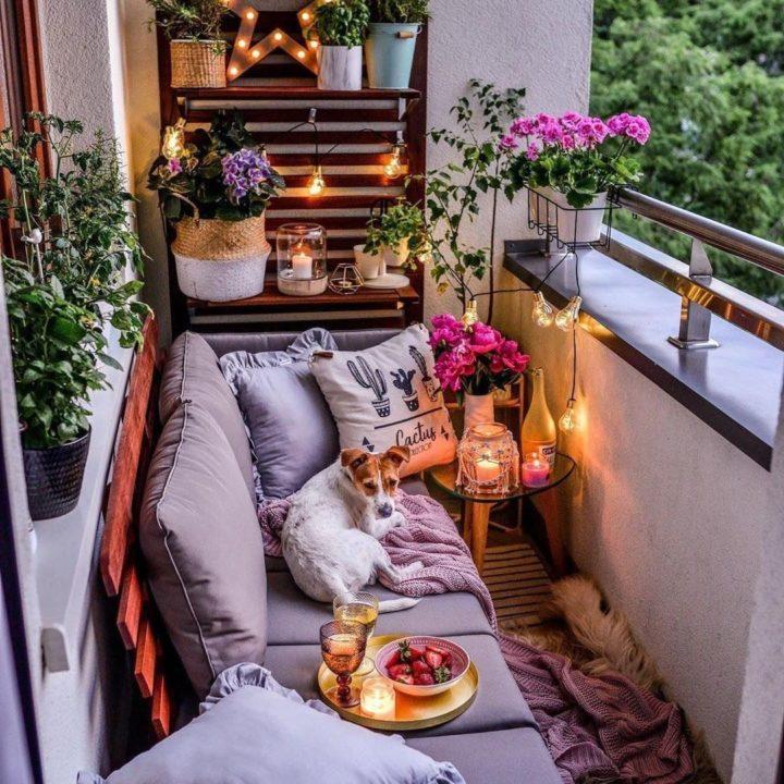 10+ Apartment Living Balcony Ideas Background
