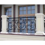 Modern Balcony Steel Railing Designs Pictures