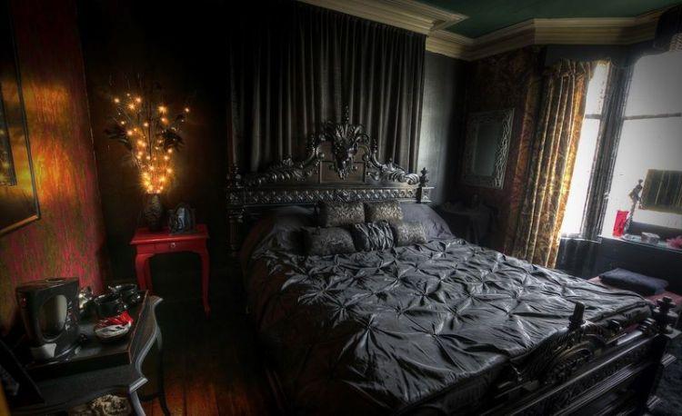 Gothic Bedroom Design Gothic Bedroom Design Ideas