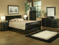 Simple Black Bedroom Ideas