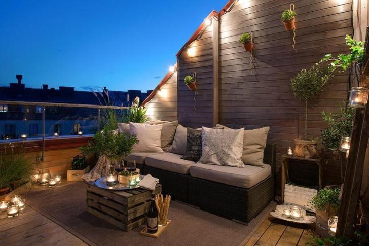 Get Apartment Balcony Balcony Lighting Ideas Gif