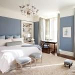 Dark Blue Wall Bedroom Ideas