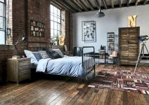 Ideas For A Industrial Bedroom