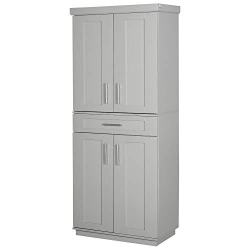 43+ Homcom Modern Kitchen Pantry Freestanding Cabinet Images