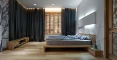 Modern Bedroom Wood Design