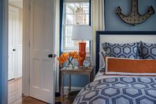 Orange Black And White Bedroom Ideas
