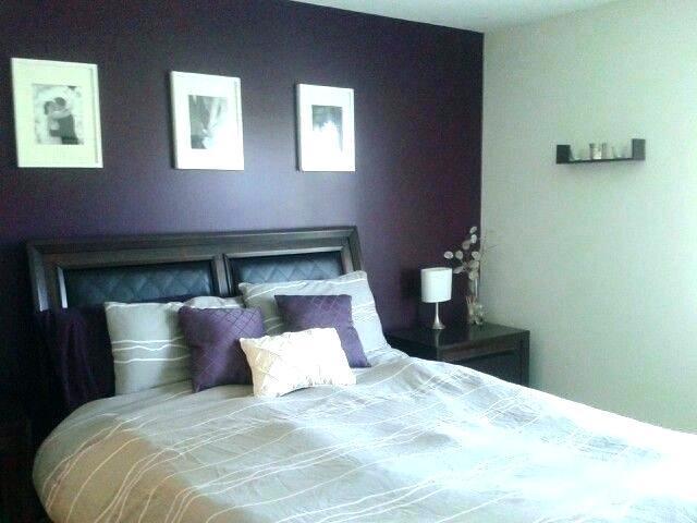 Purple Gray Bedroom Ideas Decorating Accent Paint Grey Lavender House N Decor
