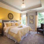 Get Yellow Wall Bedroom Designs PNG