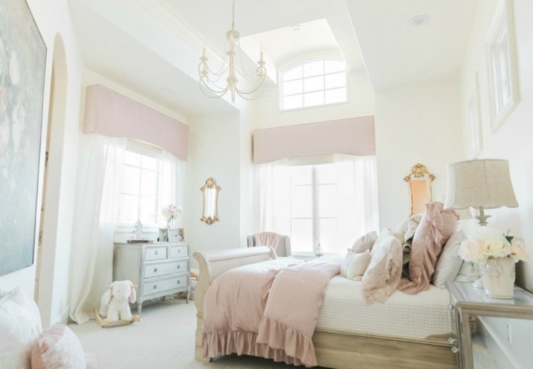 Get The Look Lovely Country French Bedroom Decorating With Gentle Palette Hello Lovely
