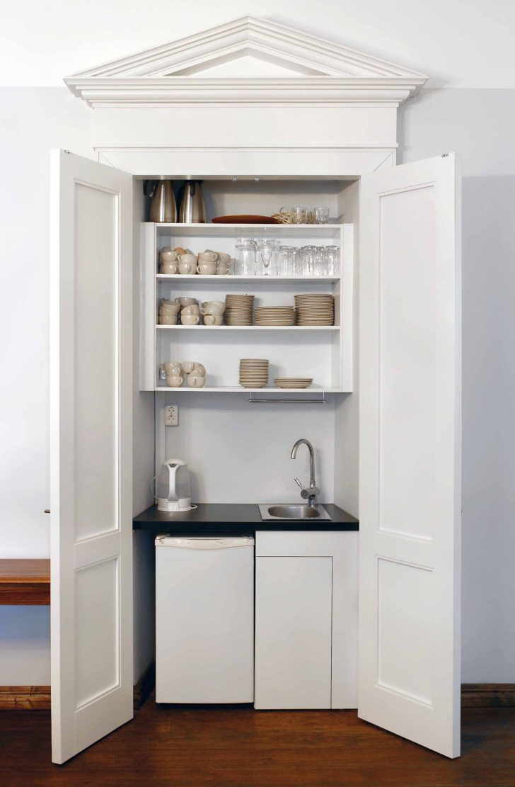 Download Kitchen Pantry Cabinet Off White Gif