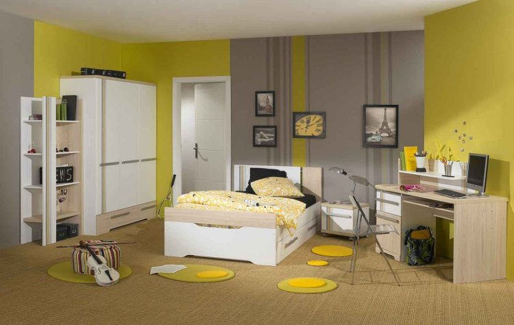 Exciting Grey Bedroom Ideas For Having A Beautiful Yellow Atmosphere Girls Wall Tumblr Light Pink And Teal Brown Apppie Org