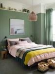 Green Wall Bedroom Ideas