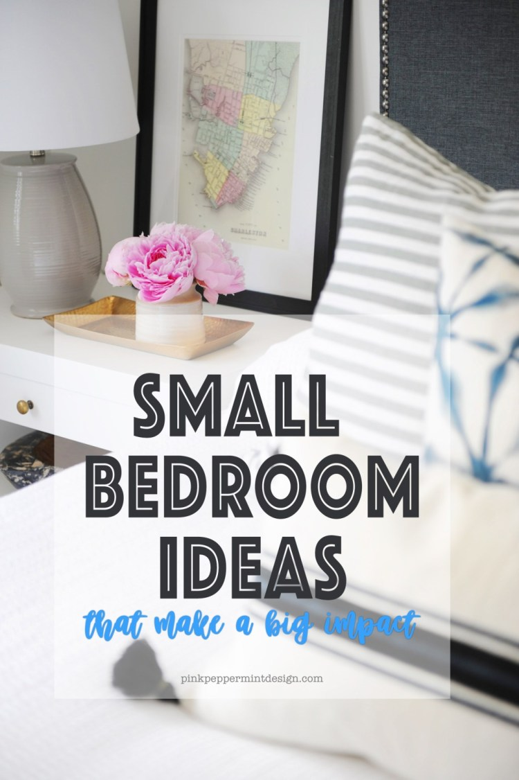 Small Guest Bedroom Ideas That Make A Big Impact Pink Peppermint Design