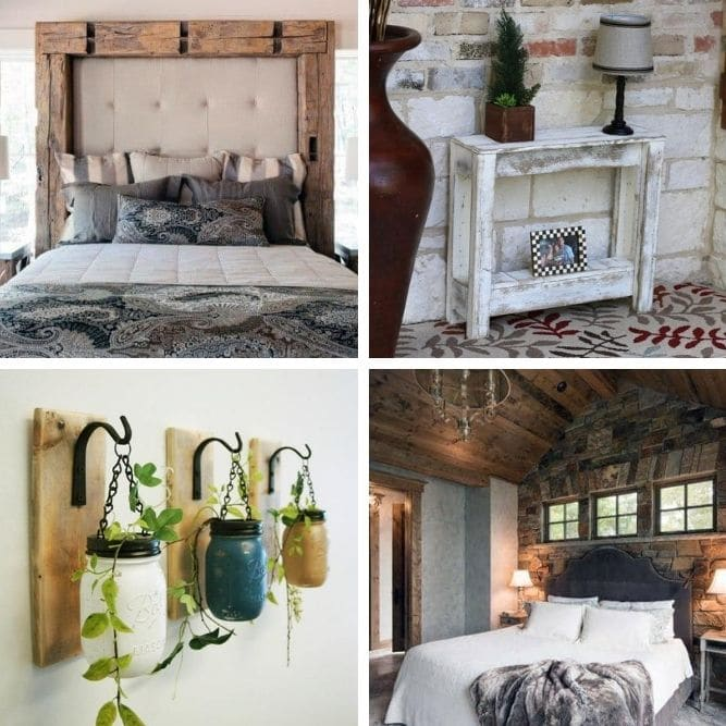40 Cozy Rustic Decor Ideas For A Bedroom Oasis Diy Crafts