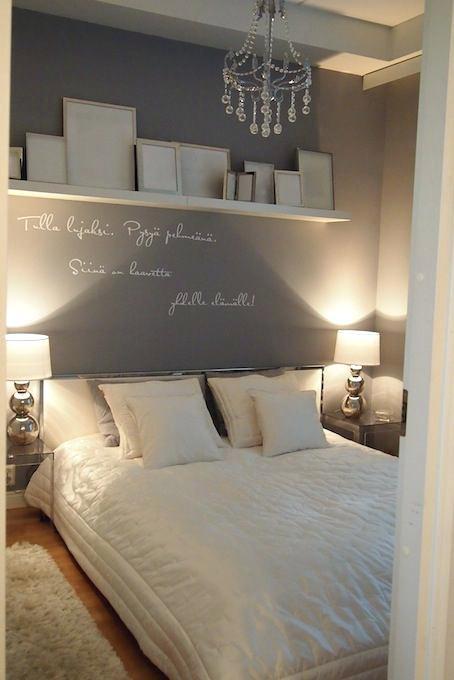Grey White Bedroom Silver Regard Ideas Wall Decor House N Decor