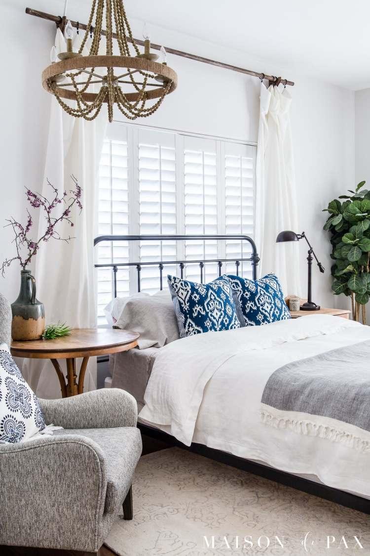 Simple Master Bedroom Decorating Ideas For Spring Maison De Pax