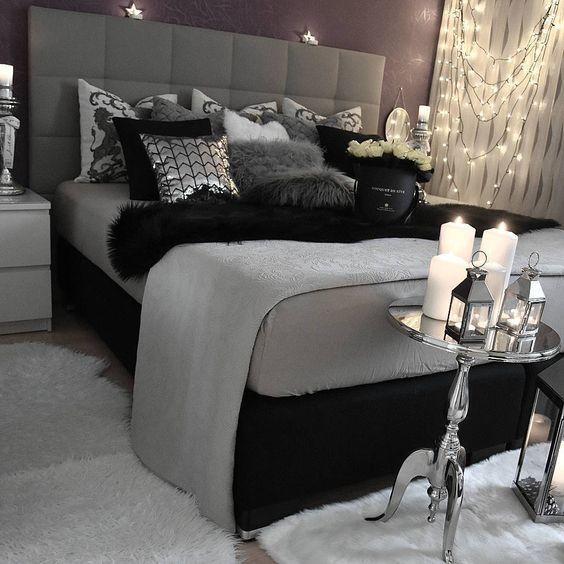 37 Beautiful Silver Bedroom Ideas Decor Home Ideas