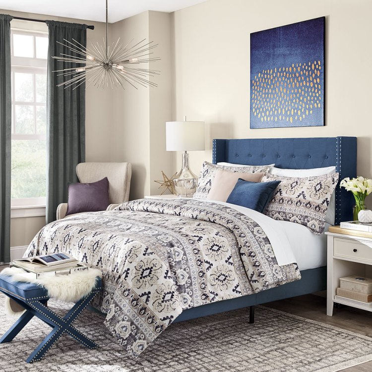 Blue Bedroom Ideas The Home Depot
