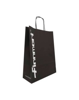 Twisted handle paper bags