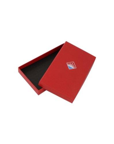 Rigid box with print
