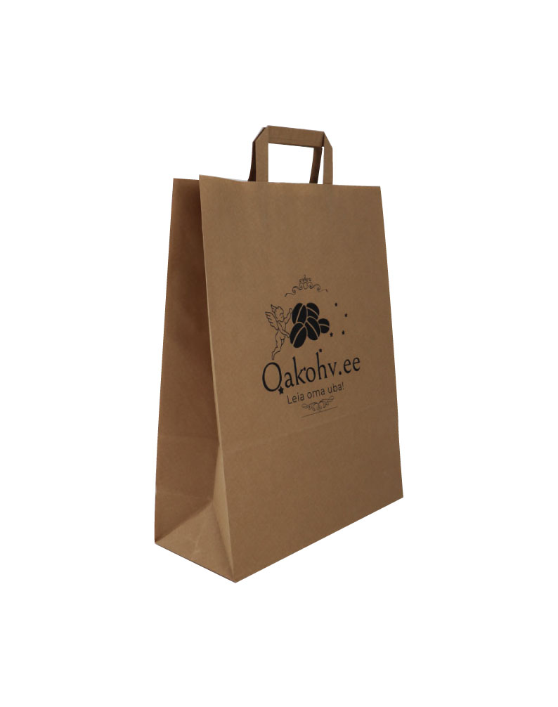 Oakohv bag with flat handles