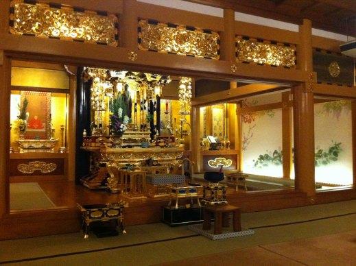 お寺の照明デザイン