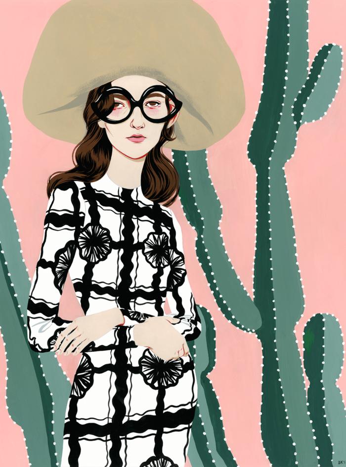 Illustrations by Bijou Karman