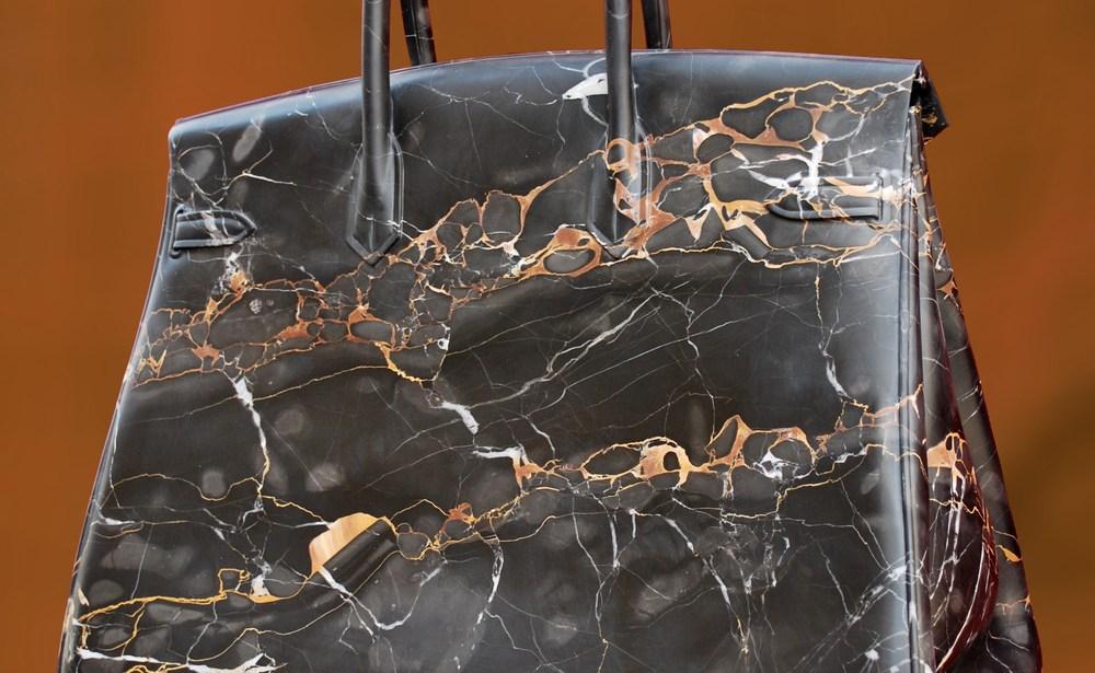 cf3ecfd442b5 Art Peeper  Barbara Segal s Marble Hermes Birkin Bags - The Design Peeper