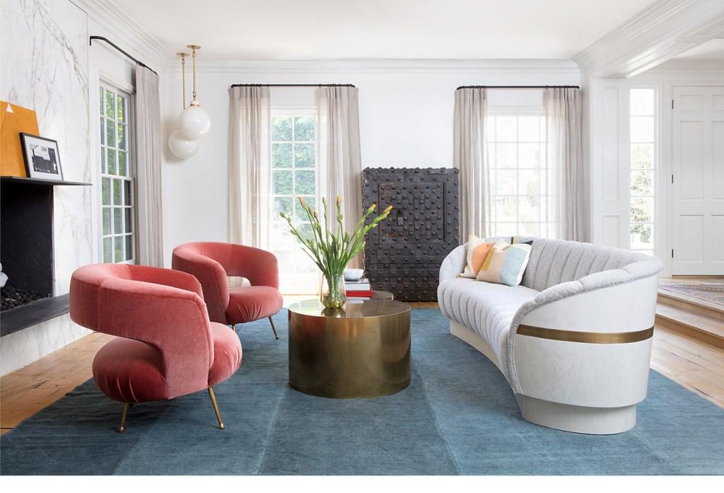 Hilary Duff's Vibrant Home Interior