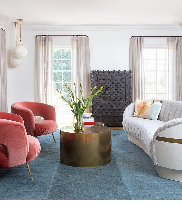 Hilary Duff's Vibrant and Feminine Los Angles Abode