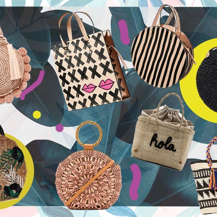 My favorite Woven Bags For This Summer