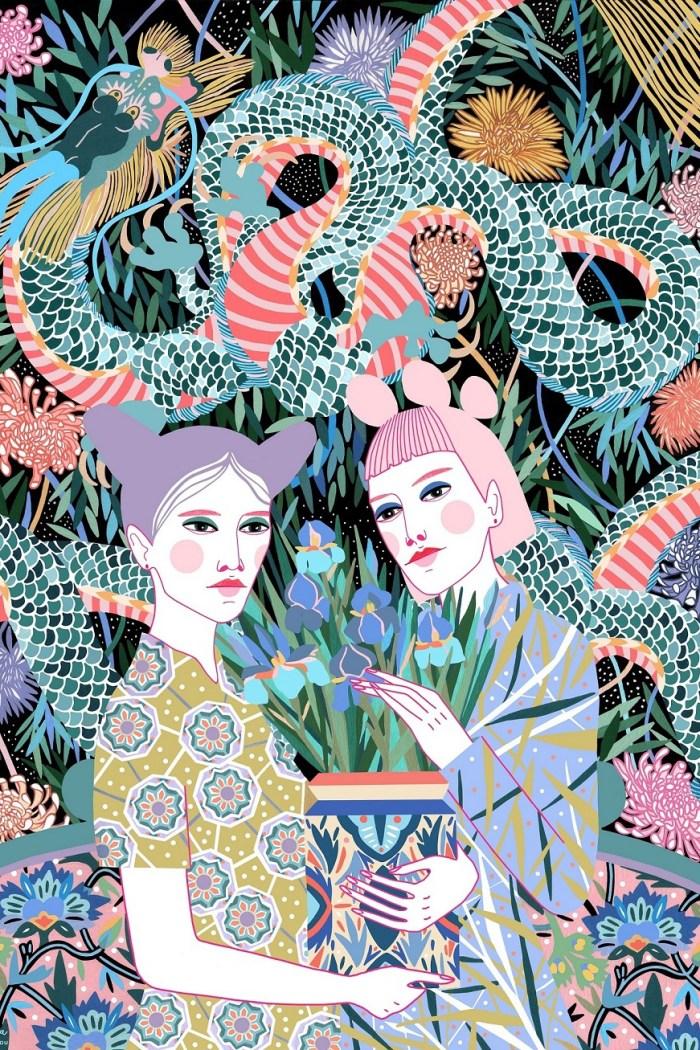 Illustrations from Sasha Ignatiadou