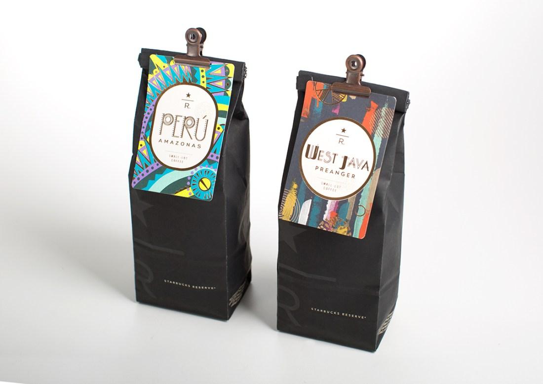 Starbucks Reserve Coffee Cards-Design Peeper