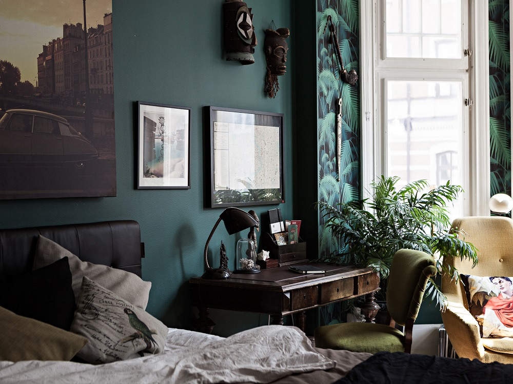 A Modern And Colorful Swedish Home  Design Peeper
